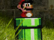 Super Mario Beads Bros stop-motion