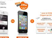 Orange propose pour temps limité l'iPhone 29.90 €...