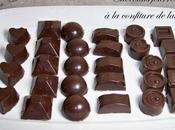 Chocolats fourrés confiture lait