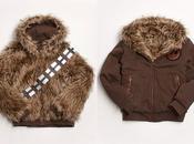 Lancement d'un manteau fourrure poils Chewbacca