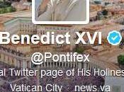 Pape tweeté pour première fois vous bénis tous grand cœur