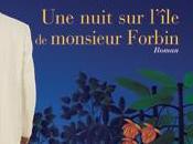 nuit l'île monsieur Forbin, roman Fabien Hertier, chez Elan