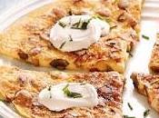 Omelette champignon ciboulette