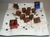 Carrés Noel chocolat, gavottes