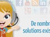 gestion relation client l'heure réseaux sociaux