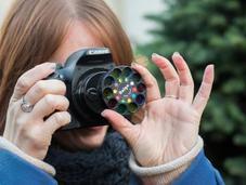 Dix-huit filtres photo prismes pour reflex