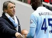 City Violent clash entre Mancini Balotelli