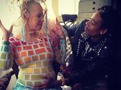 "Photos Amber Rose fête ""baby shower"""