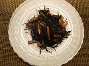 Algues tofu frit Hijiki nitsuke ひじきの煮付け