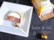 Bûche chocolat -pistache Spéculos