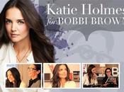 Katie Holmes première égérie marque cosmétiques Bobbi Brown