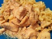 Fettuccini Alfredo poulet