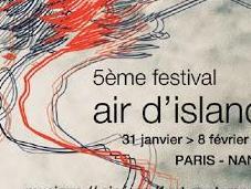 Festival d'Islande pose Paris Nantes