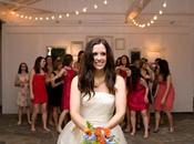 Tout monde droit bout bouquet mariée