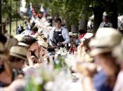 table plus long déjeuner monde.... Australie