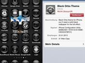 Installer thème Black Orbs iPhone, sans jailbreak...