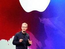 Apple firme pomme plus pêche