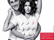 Samedi décembre 2012, coiffeuse bordelaise VANIA LAPORTE mobilise contre sida