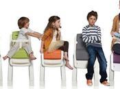 Chaise haute ZAAZ design, confort propreté