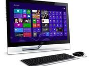 Test l'ordinateur tout-en-un tactile Acer Aspire 7600U sous Windows