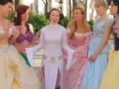 Princesse Leia apprend devenir princesse Disney