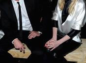 Garrett Hedlund Kirsten Dunst Défilé Yves St-Laurent Fall Collection 2013 Paris 04.03.2013