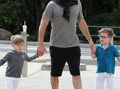 dernières vues Ricky Martin avec famille!