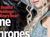 Game Thrones s'affiche couverture Entertainment Weekly