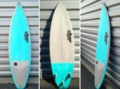 Rétro moderne planches plus performantes gamme Surfboards faite résine teintée, donne