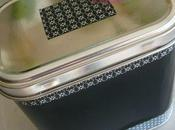 Boîte métal customisée pour sablés fleur
