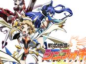 L'anime Senhime Zesshou Symphogear Saison daté Japon