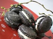 Macarons noirs l'anis