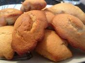 Mini-madeleines beurre cacahuète.