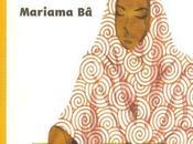 livre semaine: longue lettre Mariama