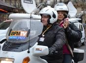 SCANDALE Moto BFMTV transporte Frigide Barjot