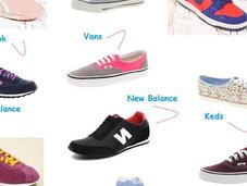 Shopping list: baskets veux voila!