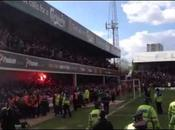 Brentford-Doncaster Ambiance match Griffin Park