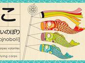 Koinobori, fête enfants japon.