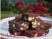 Fudge deux chocolats, Noix Noisettes