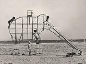 vintage playground elephant slide