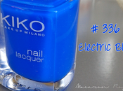 Kiko Electric blue, vernis bleu