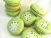 Macarons kiwi