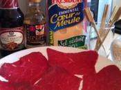 Yakitori brochettes boeuf-fromage Japonais chez