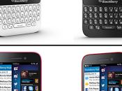 BlackBerry® lance BlackBerry®Q5