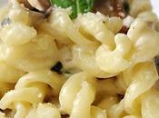 Recette végétarienne Pâtes sauce Alfredo