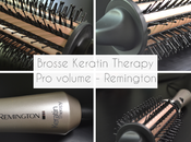 "[Video] Brosse ""boucler"" Keratin Therapy Remington"