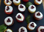 Mini tomates mozza perles saveurs balsamique