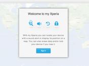 Sony lance service localisation d'Xperia volé