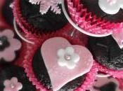 Cupcakes chocolat version girly
