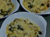 crumble courgettes
